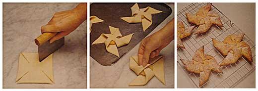 Как сделать булочки из слоеного теста с вареньем рецепт